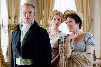 Sir Walter Elliot, Elizabeth Elliot, and Mary Musgrove