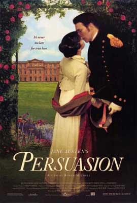 Persuasion 1995 film cover